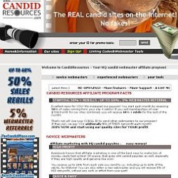 CandidResources Adult Affiliate Program