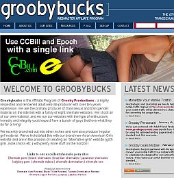 Groobybucks Adult Affiliate Program