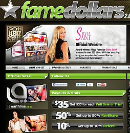 FameDollars Adult Affiliate Program