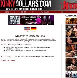 Kinky Dollars Adult Affiliate Program