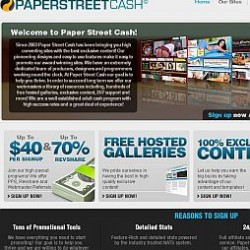 PaperStreetCash Adult Affiliate Program