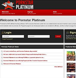 Pornstar Platinum Adult Affiliate Program