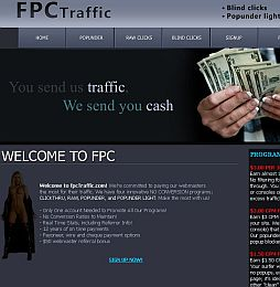 FPCTraffic Adult Affiliate Program