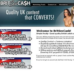 BritSexCash Adult Affiliate Program