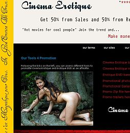 Cinema Erotique Adult Affiliate Program