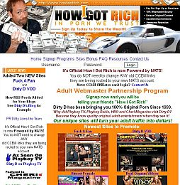 How I Got Rich Adult Affiliate Program