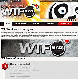 WTFBucks Adult Affiliate Program