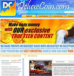 DeluxeCoin Adult Affiliate Program