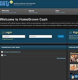 Homegrown Cash v2 Adult Affiliate Program
