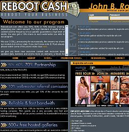 RebootCash Adult Affiliate Program