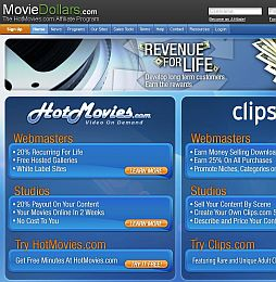 MovieDollars Adult Affiliate Program, Too many sponsor sites with DVD ...