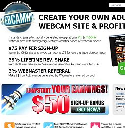 WebCamWiz Adult Affiliate Program