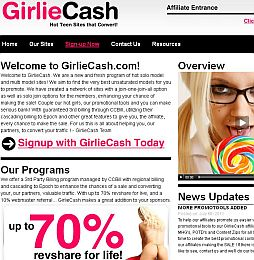 GirlieCash Adult Affiliate Program