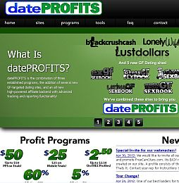 Date Profits Adult Affiliate Program