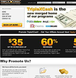 TripleXCash v4 Adult Affiliate Program