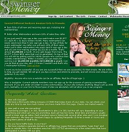 Swinger Money Adult Affiliate Program
