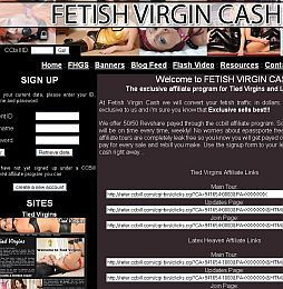 Fetish Virgin Cash Adult Affiliate Program