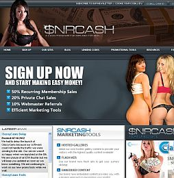 SNR Cash Adult Affiliate Program