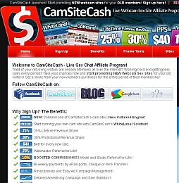 CamSiteCash Adult Affiliate Program