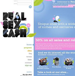 RealSexCash Adult Affiliate Program