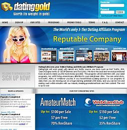 Online Dating Affiliate Program Network for Dating Webmasters - DateTronix