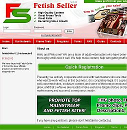 FetishSeller Adult Affiliate Program