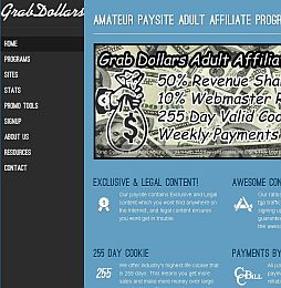 GrabDollars Adult Affiliate Program