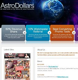 Astro Dollars Adult Affiliate Program