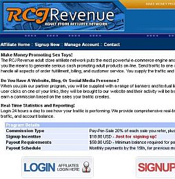 RCJRevenue Adult Affiliate Program