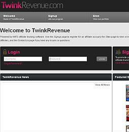 TwinkRevenue Adult Affiliate Program