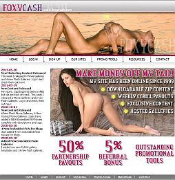 FoxyCash Adult Affiliate Program