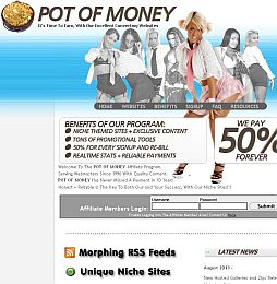 Pot Of Money Adult Affiliate Program