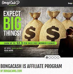 BongaCash Adult Affiliate Program