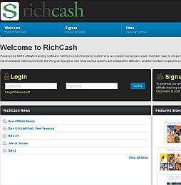 RichCash Adult Affiliate Program