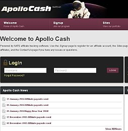 Apollo Cash Adult Affiliate Program