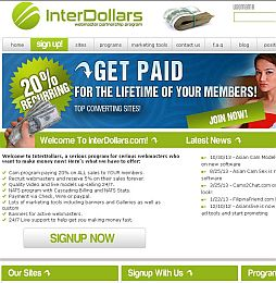 InterDollars Adult Affiliate Program