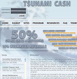 Tsunami Cash Adult Affiliate Program