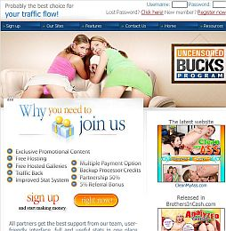 UncensoredBucks Adult Affiliate Program