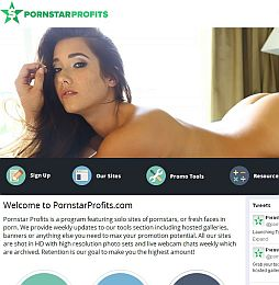 PornstarProfits Adult Affiliate Program