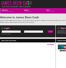 James Deen Cash Adult Affiliate Program