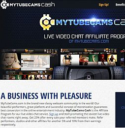 MyTubeCams Cash Adult Affiliate Program