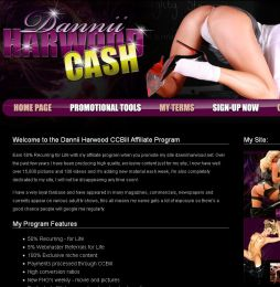Dannii Harwood Adult Affiliate Program