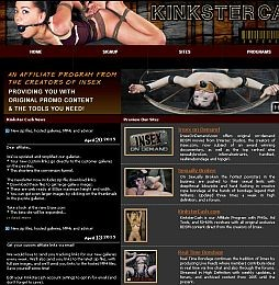 Kinkster Cash Adult Affiliate Program