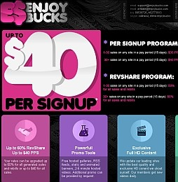 EnjoyBucks Adult Affiliate Program