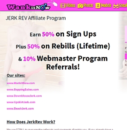 JERK REV Adult Affiliate Program