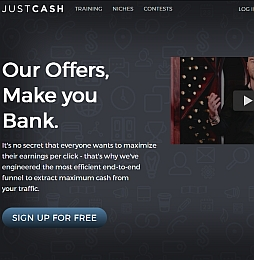 JustCash Adult Affiliate Program